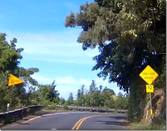 速度制限狭い橋M