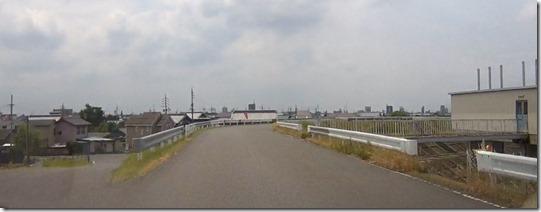 日本ガードレール端面
